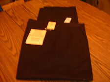 EDDIE DOMANI  MENS CASUAL PANTS (NWT) SIZE 34 x 30 BLACK HABITO DE LUXO
