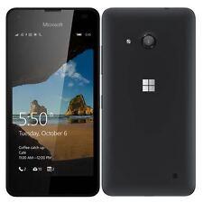 Nueva condición Microsoft/Nokia Lumia 550 Negro 4G SIM teléfono gratuito Windows