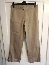 GANT Mens Beige Chino Trousers W32 L30