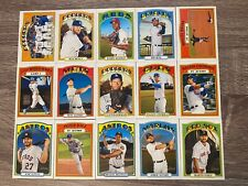 2021 Topps Heritage Base Cards / Pick Your Card, Complete Your Set / In Action