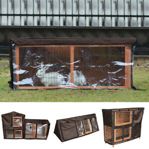 Outdoor Rabbit Cage Cover Rabbit Hutch Run Cage Covers Pet Ferret Cage Cover