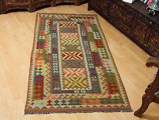 210x100 cm orient Teppich Afghan Turkmen Nomaden Planzenfarbe kelim kilim No:44