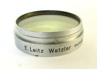 Leitz Leica 43mm Light Yellow Green Push-On/Slip-On Lens Filter For Summarit