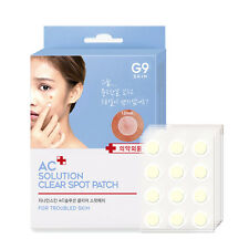 [G9SKIN] AC Solution Clear Spot Patch 12mm Round 12pcs * 5ea - Best Korea Cosmet