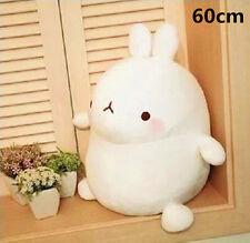 24'' White Molang Rabbit Plush Stuffed Doll 60cm Kids Toy Soft Cushion Xmas Gift