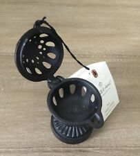 NWT - Cast Metal Spool Stand - Black - Hearth & Hand™ with Magnolia Small