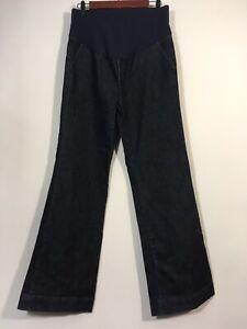 GAP Maternity Jeans Size 4 Dark Wash Blue BOOTCUT Denim