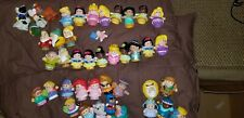 Fisher Price Little People Mixed Lot of 50 Disney Princesses Nativity Dwarfs