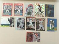 Juan Gonzalez ELEVEN Card Lot. Rookies, #'d & other inserts+Premium Base Cards!