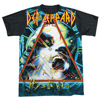 DEF LEPPARD HYSTERIA Licensed Adult Men's Graphic Band Tee Shirt SM-3XL