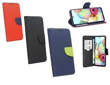 Buch Handy Tasche Schutz Hülle Etui Flip Cover Book Case Fancy Premium Tasche