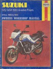 SUZUKI GS550 ED ESD ESE ES3 EF ESF LD LF & GSX550 ESD ESE EFE '83- REPAIR MANUAL