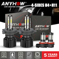 New listing Combo Led Headlight Kit for Toyota Tacoma 2012-2015 Hi/Low Beam Fog Light Bulb