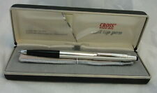 SALE! Cross Pure Sterling Silver Century Rollerball Gel Pen #3004 USA Made MINT
