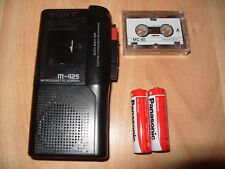 Sony M-425 MicroCassette Voice Recorder Dictaphone Dictation Machine Rare