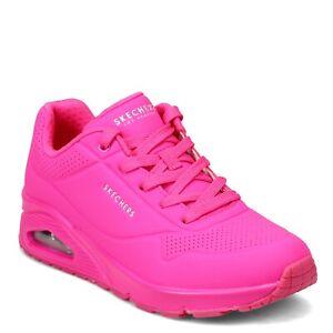 Women's Skechers, Uno - Neon Nights Sneaker