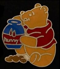 Disney Pin ~ Pooh sitting with Hunny Pot ~ Winnie the Pooh
