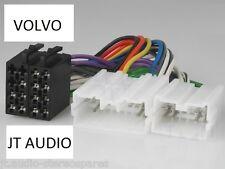 Volvo Car Radio Stereo Wiring Harness Iso Converter S40 V70  850 960 White Lead