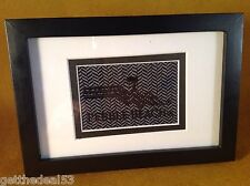 Pebble Beach Golf Links - Framed sew out - 1 color embroidered logo