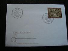 SUISSE-enveloppe 1er jour 17/9/2002(imprimerie timbre poste)(cy19)switzerland(A