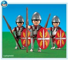 Playmobil 7880  Roman Warriors 3 figures mint in Bag Add On NEW 121