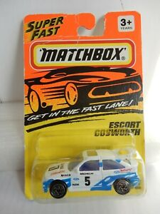 MATCHBOX SUPER FAST FORD ESCORT COSWORTH #52