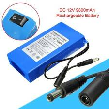 Super Power New DC 12V Portable 9800mAh Li-ion Rechargeable Battery Pack New