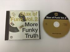Various Artists - Stax of Funk, Vol. 2: More Funky ... - Various Artists CD MINT