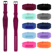 Replacement Wrist Band With Metal Buckle For Fitbit One Bracelet Wristband TGS