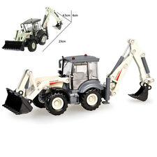 Backhoe Loader  Truck Construction Vehicle Car Model Toy 1:50 Scale Diecast