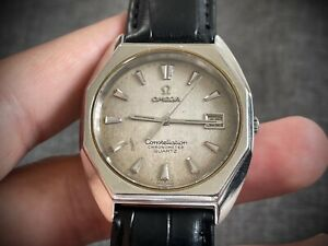 Vintage Omega constellation chronometer Quartz Gents Watch, Swiss Made 35mm