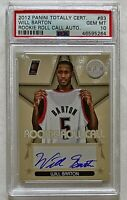 2012-13 Totally Certified Will Barton On-Card Auto RC PSA 10 GEM MINT Nuggets