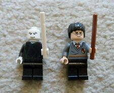 LEGO Harry Potter - Rare Voldemort & Harry Potter w/ Wands - Excellent From 4842