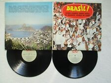 "2 LP 33T ASTRUD GILBERTO, BADEN POWELL ""Brasil !"" ALBUM 199 FRANCE 1975 /"