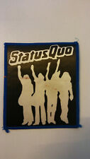 USED Status Quo Hello logo rock hardrock patch band music