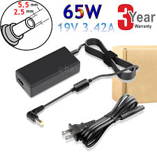 AC POWER ADAPTER CHARGER CORD FOR TOSHIBA SATELLITE C875 C875D L840 LAPTOP PC