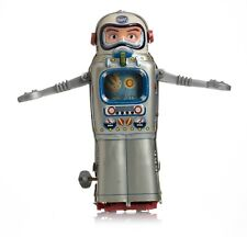 SPACE TIN TOY VINTAGE 60s ALPS TELEVISION SPACEMAN ROBOT