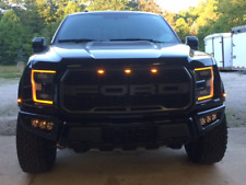Ford Raptor Fog Lights Kit LED Rigid Radiance Stainless Steel Laser cut No-Drill