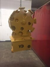 Compaction wheel for Caterpillar, John Deere & Kubota