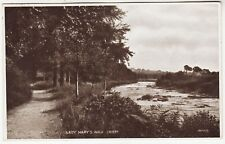 CRIEFF - Lady Mary's Walk - JV 13479 - Scotland - 1927 used postcard