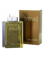 MEMOIRE D'HOMME Nina Ricci 3.3 oz After Shave Lotion New in Sealed Box