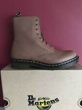 Dr MARTENS Pascal Virginia Leather Ankle Boots, Tan Size Uk 9 BRAND NEW BOXED!