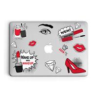Women Beauty Design Cover Case For Apple Macbook Pro Retina Air 11 12 13 15 2016