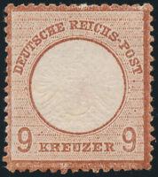 DR 1872, MiNr. 27 a, ungebraucht, Fotoattest Krug, Mi. 600,-