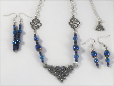 ❤️ Necklace + 2 Pair Earrings ~SET~ Renaissance Victorian Wickedly Weird Wares