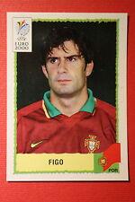 Panini EURO 2000 N. 66 PORTUGAL FIGO TOP MINT WITH GREEN BACK