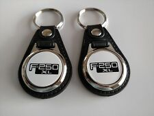 FORD F-250 XL 2 PACK OF Keychains  TRUCK FOB LOGO