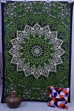 Indian Tapestry Wall Hanging Psychedelic Mandala Gypsy Bohemian Curtain Handmade