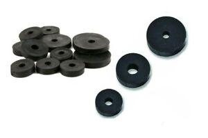 15Pc RUBBER TAP WASHERS S/M/L Plumbing Seal Buffer Packer Ring Bath Sink Shower