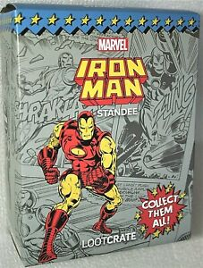 Loot Crate Marvel Iron Man Standee Gear + Goods Figure New NOS Box 2021